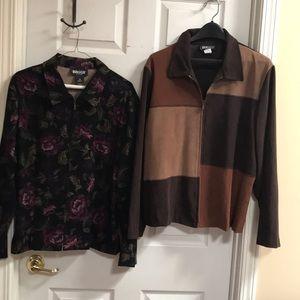 2 Briggs jackets sizes 16 & 16W